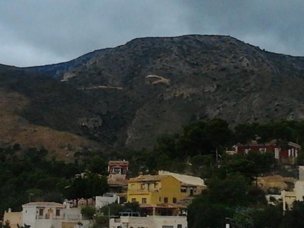 Sierra de Cabeçó d´Or